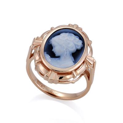 Кольцо с камеей 5.48 г SL-2228-548