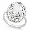 Горный хрусталь кольцо SL-2193-490 весом 4.7 г  стоимостью 3100 р.