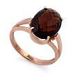 Золотое кольцо раухтопаз SL-2232-380 весом 3.8 г  стоимостью 17100 р.