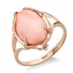 Кольцо с розовым кораллом SL-2237-450 весом 4.5 г  стоимостью 29250 р.
