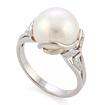 Серебряное кольцо с жемчугом SL-2240-475 весом 4.71 г  стоимостью 2300 р.