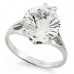 Серебряное кольцо с хрусталем (горным) SL-2250-270 весом 2.35 г  стоимостью 2860 р.