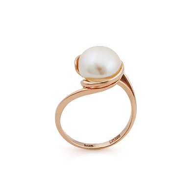 Кольцо с жемчугом золото 3.52 г SL-2837-352