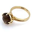 Кольцо с раухтопазом золото 3.3 г SL-2841-440