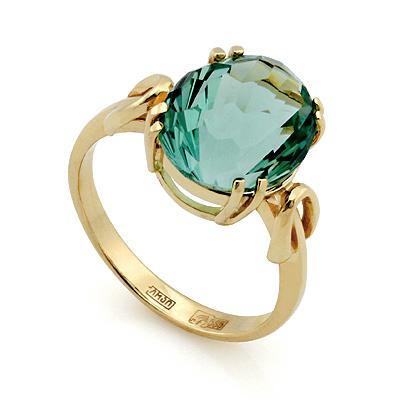 Кольцо с кварцем 4.01 г SL-2854-401