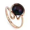 Кольцо с крупным черным жемчугом SL-2856-314 весом 3.6 г  стоимостью 14400 р.
