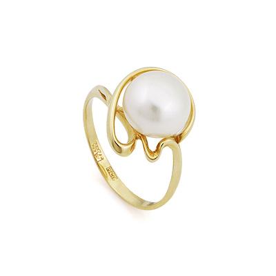Кольцо с жемчугом 3.2 г SL-2856-328