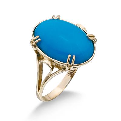 Кольцо с аризонской бирюзой 5 г SLK-2864-501