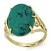 Золотое кольцо с бирюзой SL-2869-555 весом 5.55 г  стоимостью 26918 р.