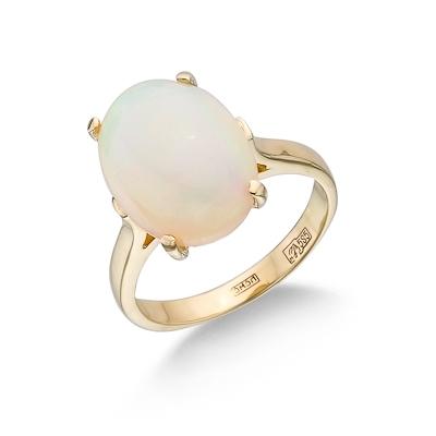 Кольцо с опалом (природным) 4.18 г SLK-0241-418