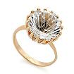 Золотое кольцо с горным хрусталем SV-0401-434 весом 4.34 г  стоимостью 19530 р.