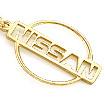Брелок из золота Ниссан TG-19001-650 весом 6.45 г  стоимостью 19350 р.