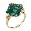 Золотое кольцо &mdash; <em><noindex>кварц</noindex> цвета аквамарина</em> и бесцветные топазы SL-2117-472 весом 4.72 г  стоимостью 20768 р.