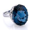 Дизайнерское кольцо с нестандартным камнем Y40-6356a-1185 весом 11.85 г