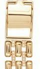 Мужской браслет для часов из золота с бриллиантами AN-12781 весом 45 г  стоимостью 239400 р.