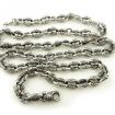 Мужская серебряная цепь SLY-8012 весом 152 г  стоимостью 55000 р.
